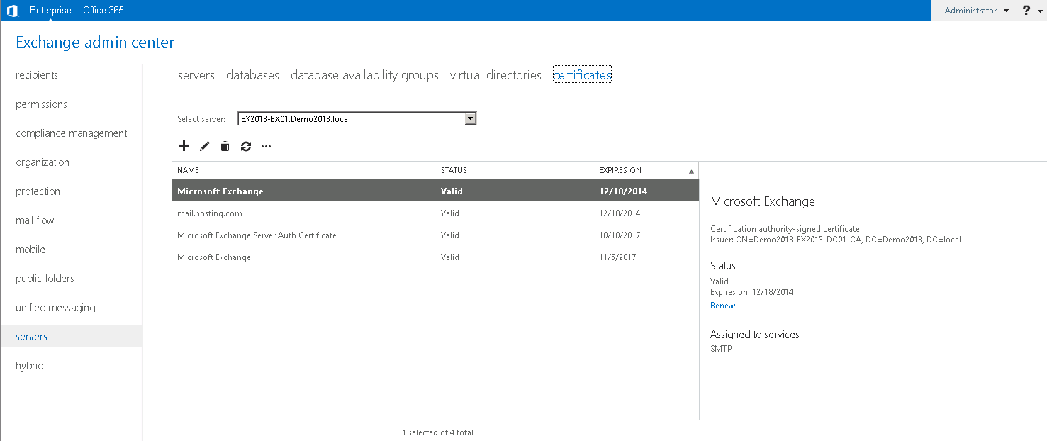 Exchange Server 2013 Administration Part 10 Just A Uc Guy