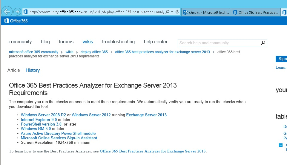 windows 2003 active directory best practices analyzer