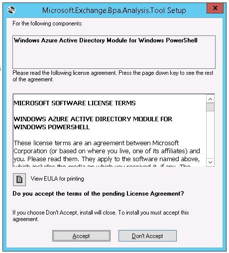 Exchange 2013 Service Pack 1 – Best Practices Analyzer
